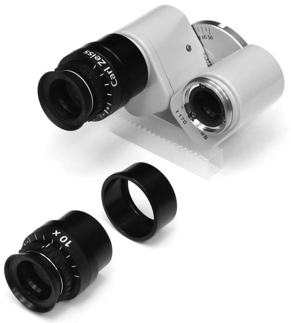 Zeiss OPMI f170 binocular with eyepiece and eyetube removed